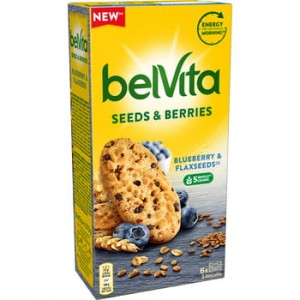 belVita seeds & berries blueberry & flaxseeds Mondelez 270g