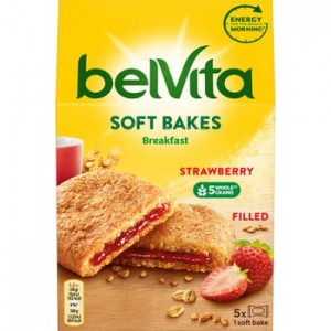 belVita soft strawberry Mondelez 250g