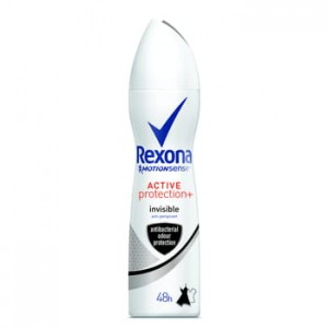 Antyperspirant Rexona spray Active Protection + Invisible Rexona 150ml