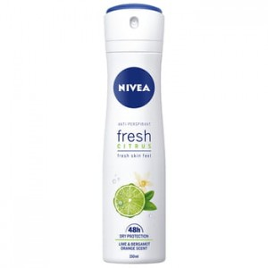 Antyprespirant Nivea spray Fresh Citrus 150 ml